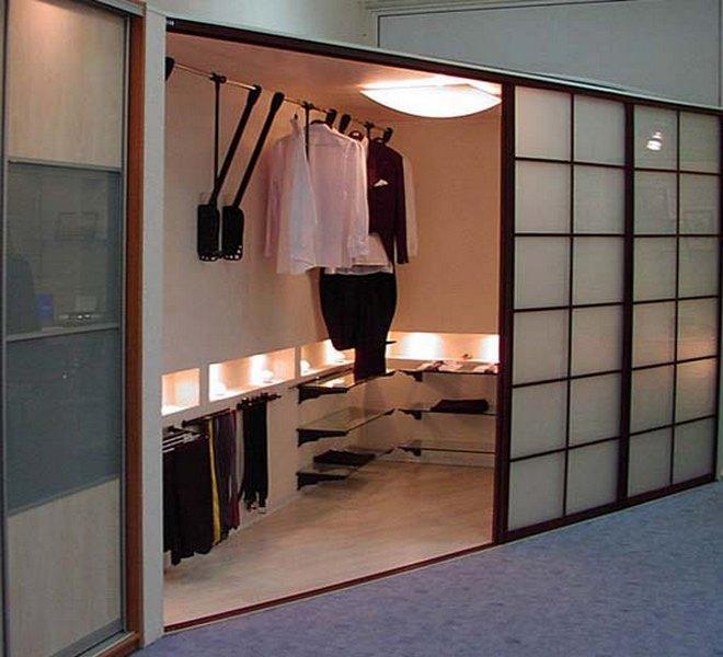 Шкафы купе и гардеробные