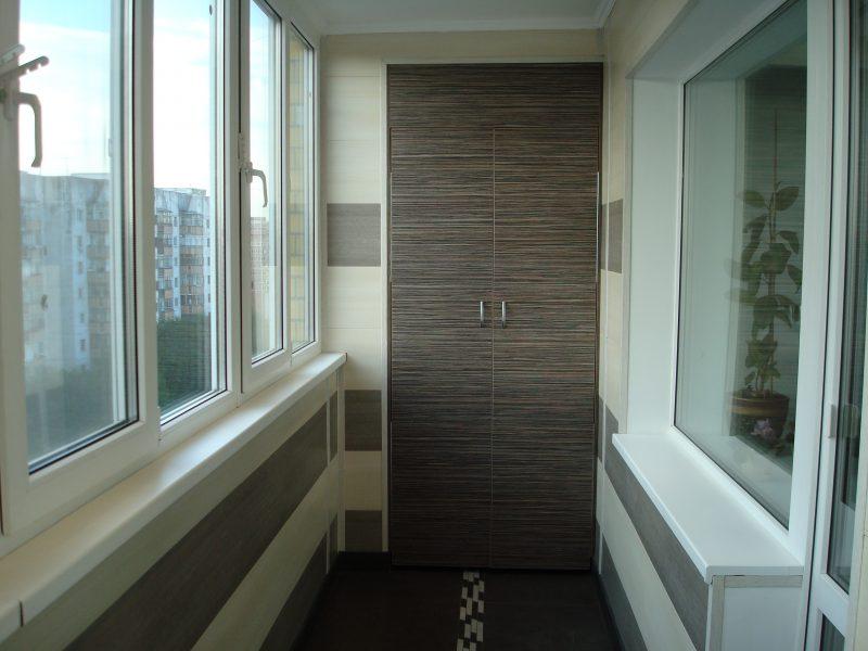Современный вид балкона