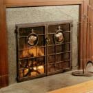 Дверцы для камина – эстетический залог вашей безопасности