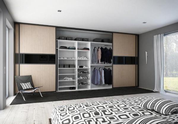 дизайн шкафа купе в гостиную фото