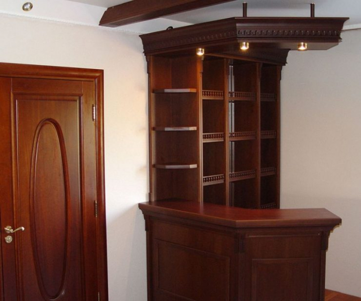 Барная стойка в гостиной - 95 фото примеров функционального дизайна