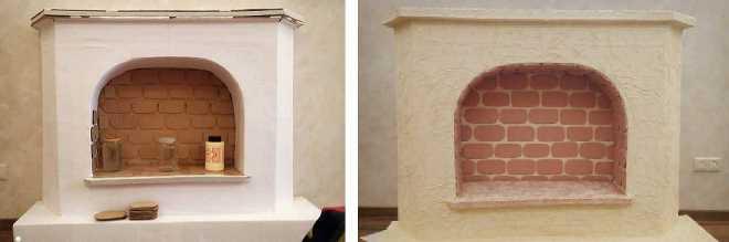 Камин из картона