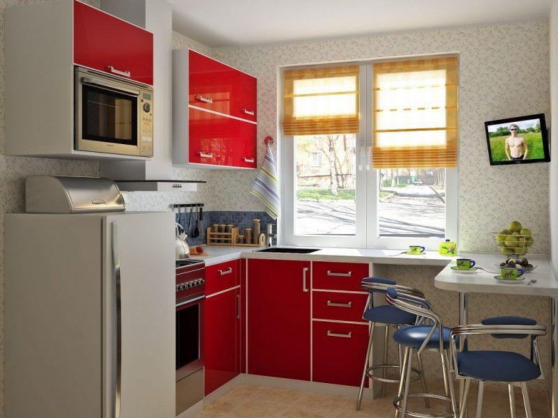 кухонный гарнитур с барной стойкой фото варианты
