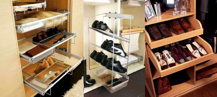 Хранение обуви в прихожей актуально