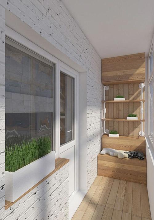 дизайн балкона в хрущевке