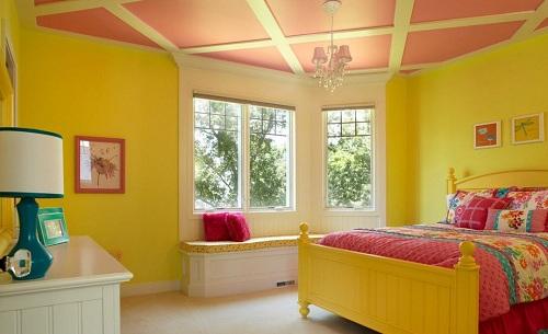 потолок для детской девочки