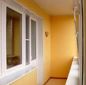 разметка балкона под шкаф