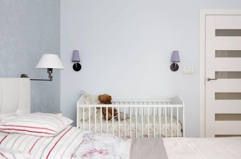 спальня и детская в одной комнате обзор