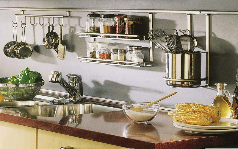 Как выбрать полки для кухни, фото