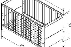 Как выбрать кроватку для новорожденного: виды, выбор материала и матраса