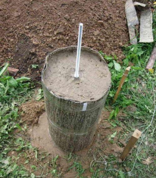 Как сделать столбчатый фундамент