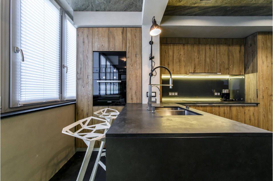 кухня совмещенная с балконом фото варианты