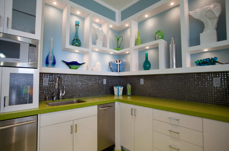 полки на кухне вместо навесных шкафов варианты идеи