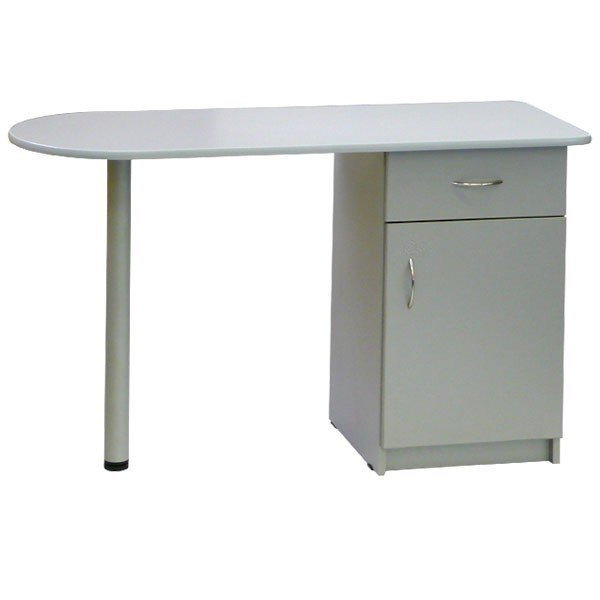 Стол белый для маникюра