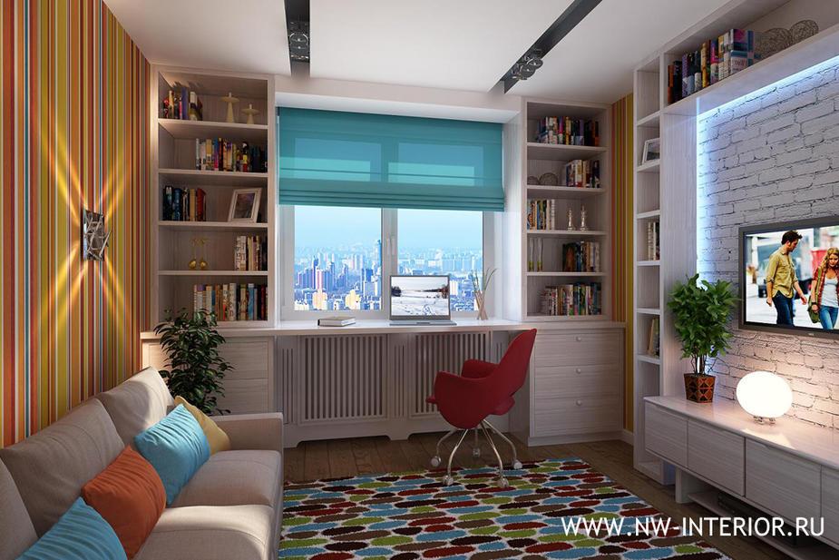 стол у окна в детской комнате фото 4