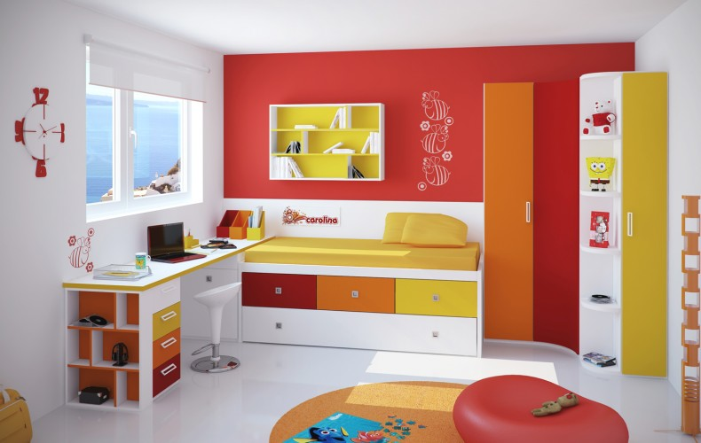 стол у окна в детской комнате фото 9