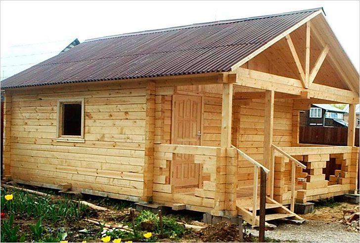 Строительство деревянной бани