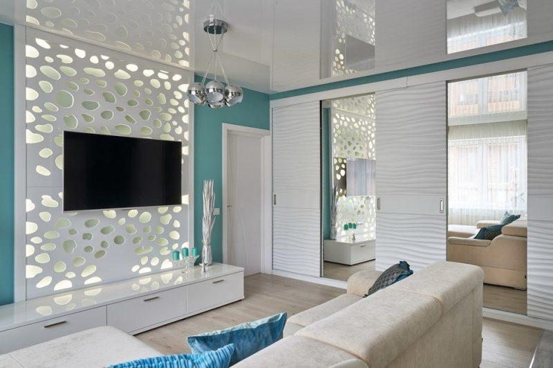 Зеркальные дверцы на шкафы раздвижной конструкции