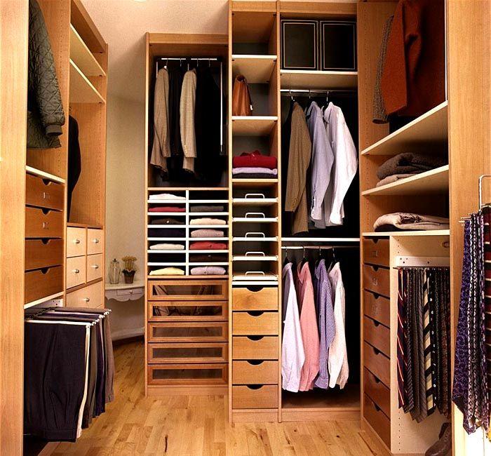 Системы хранения вещей для гардеробной