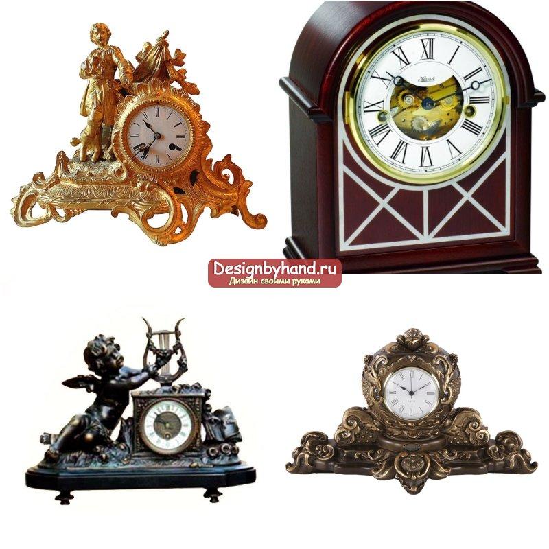 Каминные часы. Как выбрать и какие бывают?