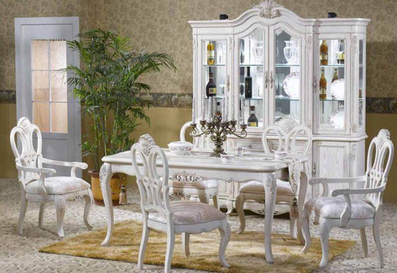 Белый оттенок мебели