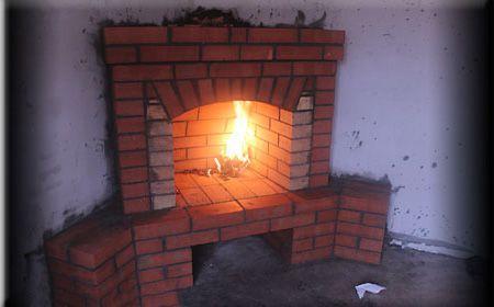 Разводим огонь в камине