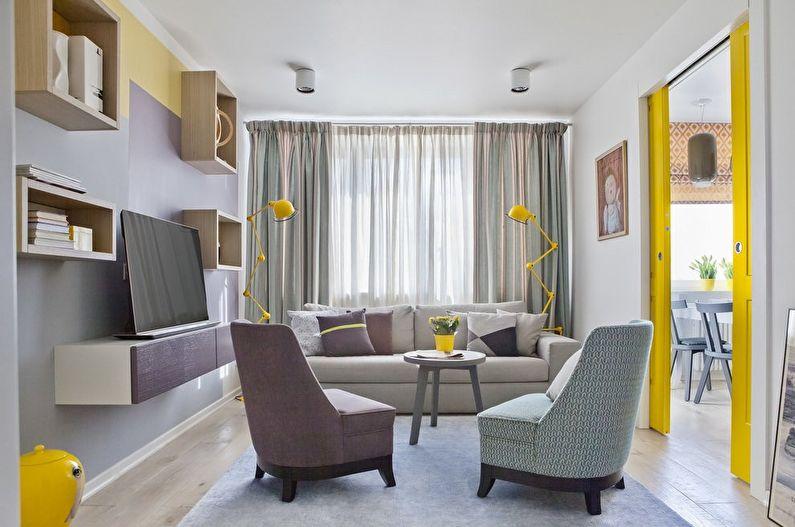 Дизайн гостиной - Мебель